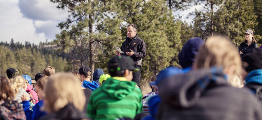 North Glenmore Elementary Field Trip to Wilden