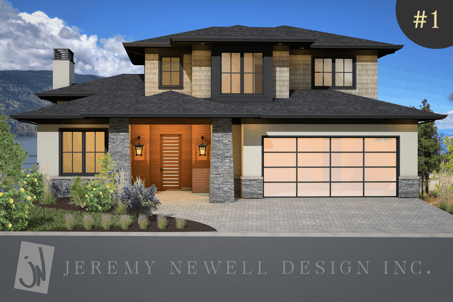 Modern contemporary style home plans 2017 2018 best for Small house design kelowna