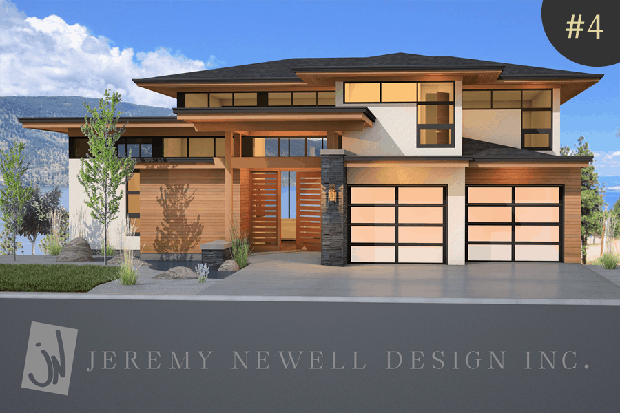 Custom homes by select kelowna builders wilden Contemporary home builder