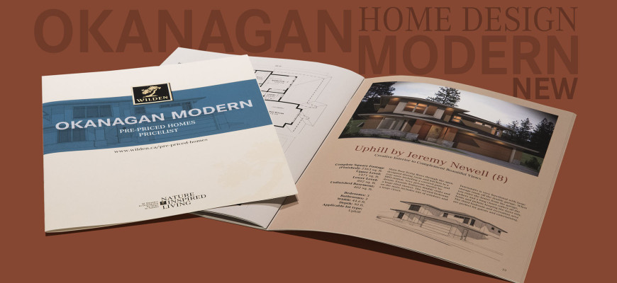"""Okanagan Modern"" Catalog Is Out!"