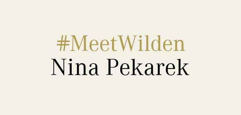 #MeetWilden – Nina Pekarek