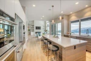 AuthenTech Homes - Kelowna New Homes, Wilden Showhome Kitchen