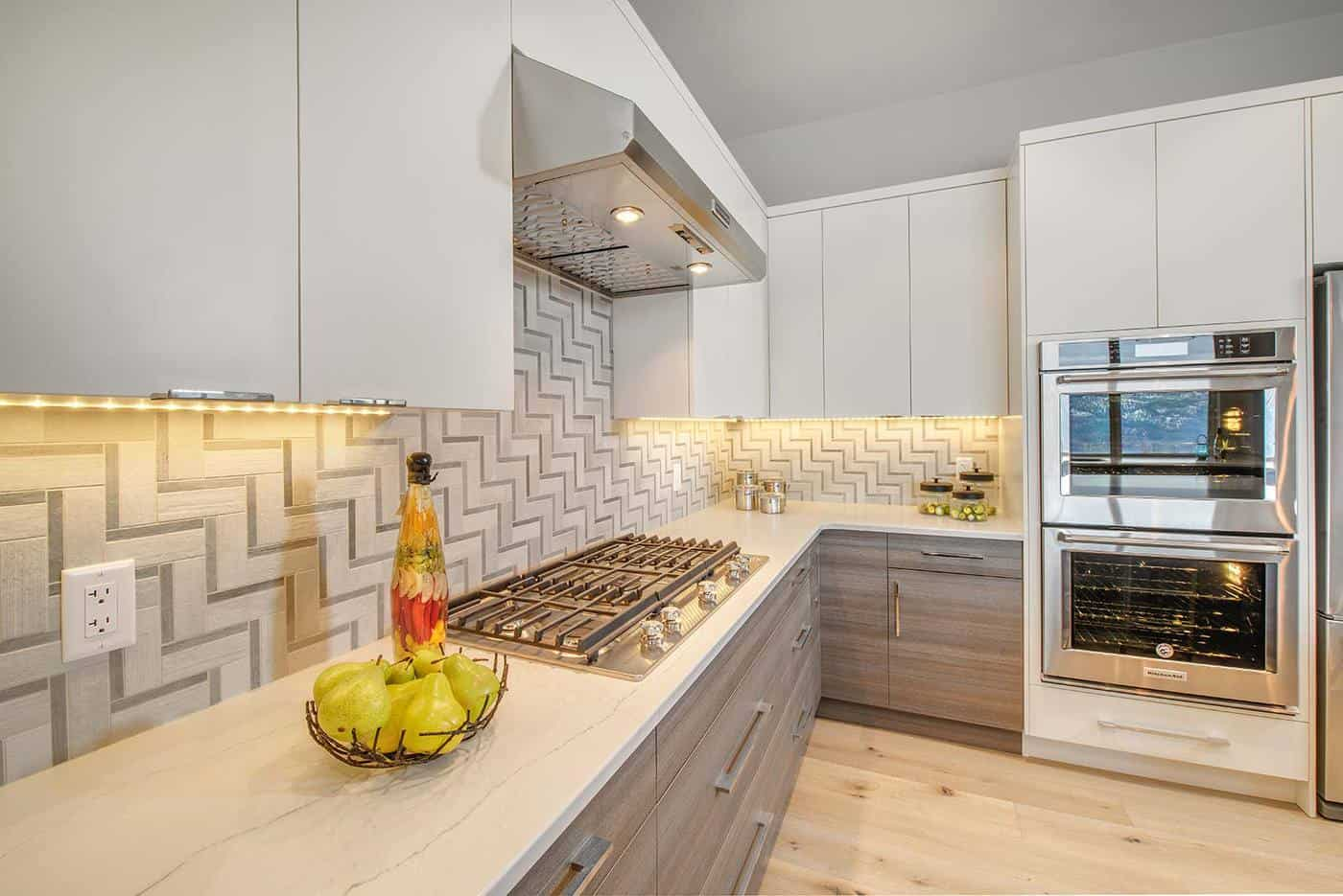 AuthenTech Homes - Kelowna New Homes, Wilden Showhome Kitchen View