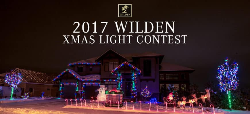 2017 Wilden XMAS Light Contest