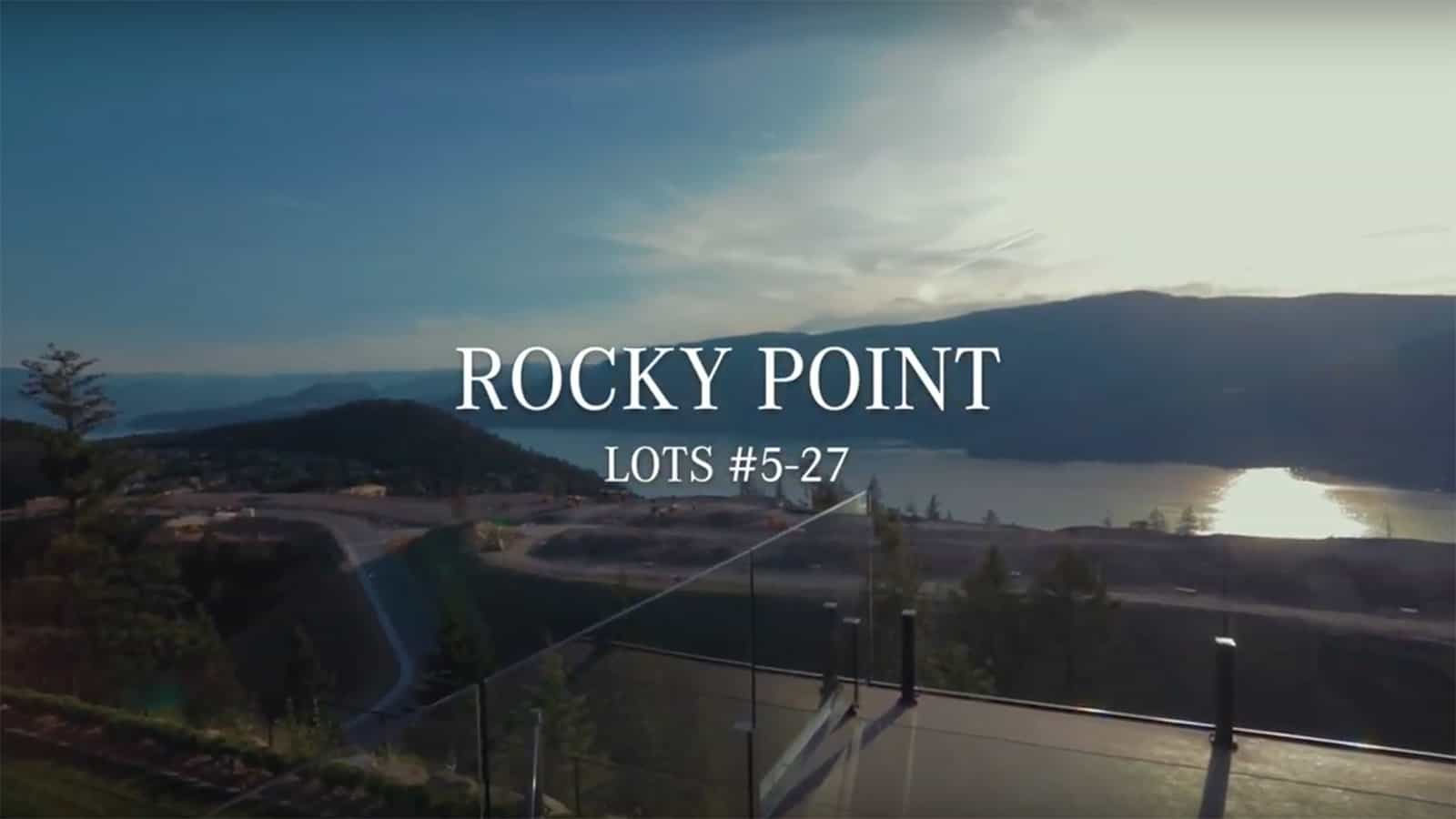 Wilden Kelowna, BC Rocky Point neighbourhood lots