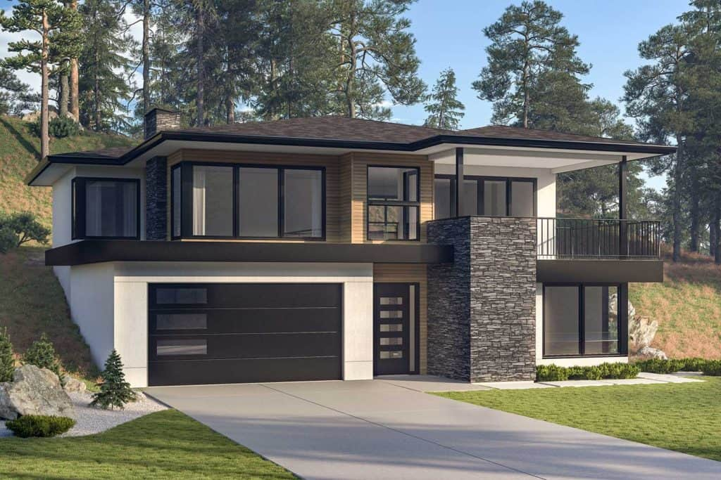 New family homes kelowna echo ridge wilden select for Upslope house designs