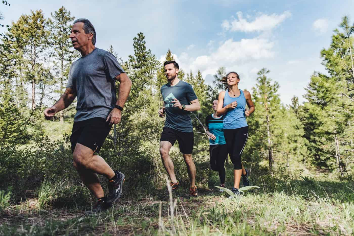 Wild One Run trail runners